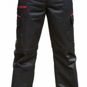 Julius K9 Hose Outdoor Zipp Off schwarz rot imprägniert kratzfest Größe 48